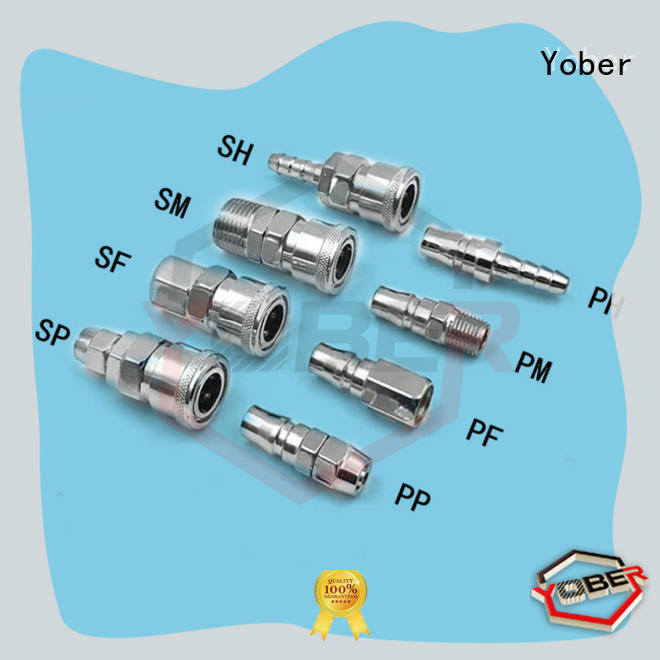 Yober stable quick connect fittings factory direct supply for water pipeline system