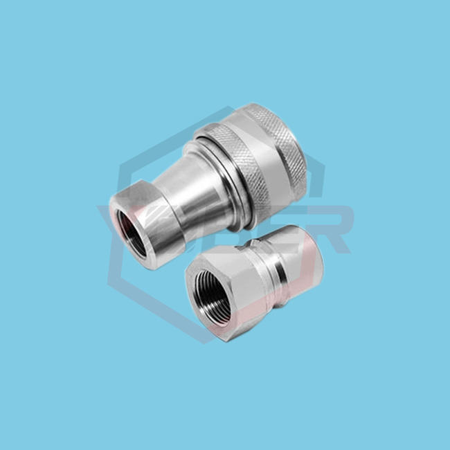 Stainless Steel 304 Hydraulic Fittings KZF Quick Connectors