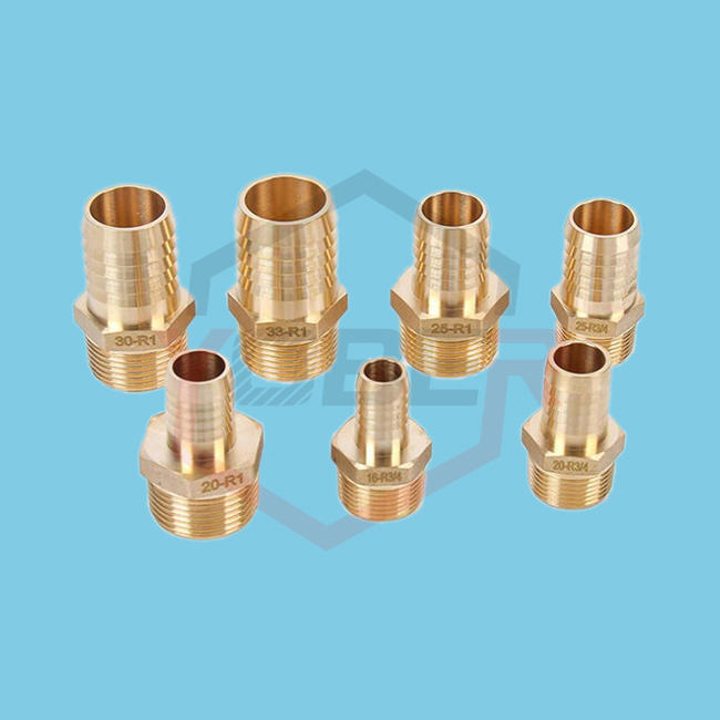 Brass Pipe Fitting 6mm-25mm Hose Barb Tail 1/8