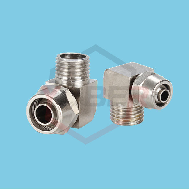 Quick Screw Fitting OD 4/6/8/10/12mm Hose Tube M5 1/8'' 1/4'' 3/8'' 1/2'' Male Thread Pneumatic Fast Twist Fittings Elbow Quick