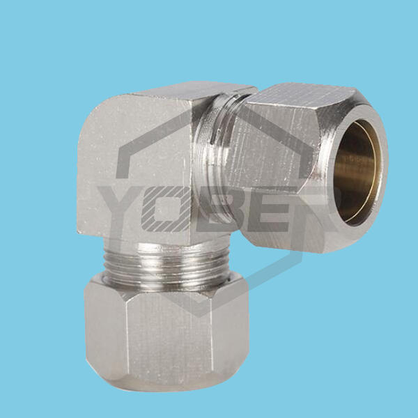 Air Tube Lock Sleeve Fittings Elbow Joints to Straight Joints PV6 PV8 PV10 PV12 Copper Pipe Fittings