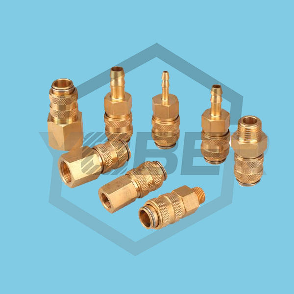 35bar Working Pressure Brass Material Compressed Air Gas Connector Quick Connect Pneumatic Air Fittings