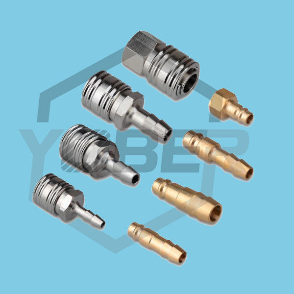 China Fittings High Quality Pneumatic Hose Fittings Air Quick Coupler Quick Release Gas Coupling