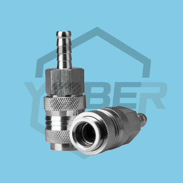 China Factory Compressed Air Coupler Pneumatic Natural Gas Fitting Quick Coupling Hose Connector