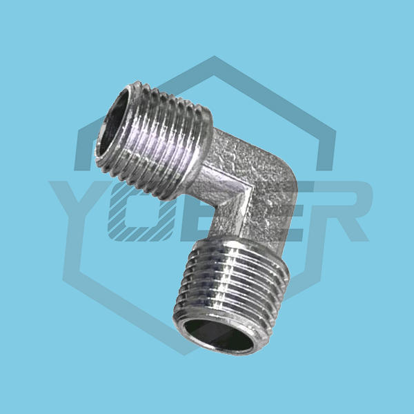 OEM China Fittings Brass Combined Type Elbow Double Male Pneumatic Fittings