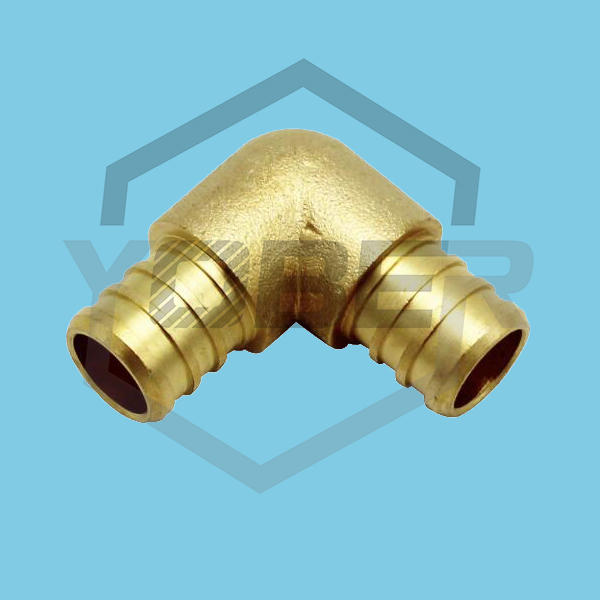 High Quality China Metal Copper Brass Pipe Fittings Elbow Connector