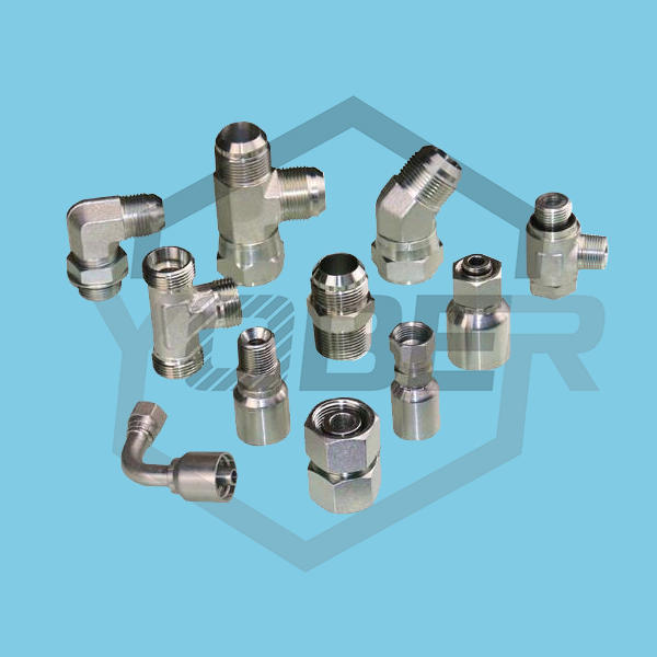 China Cheap High Pressure Flexible Air Hose Hydraulic Adapter Hydraulic Coupling Fitting