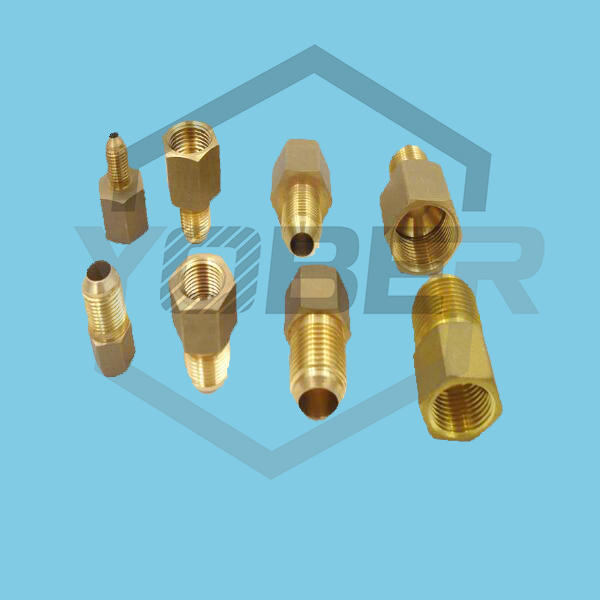 China Compression Ferrule Tube Compression Fitting Connector Tee Brass Oil Pipe Fitting Aapter