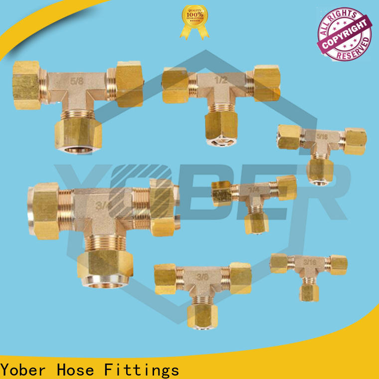 Yober reliable hydraulic fittings customized for agricultural machines