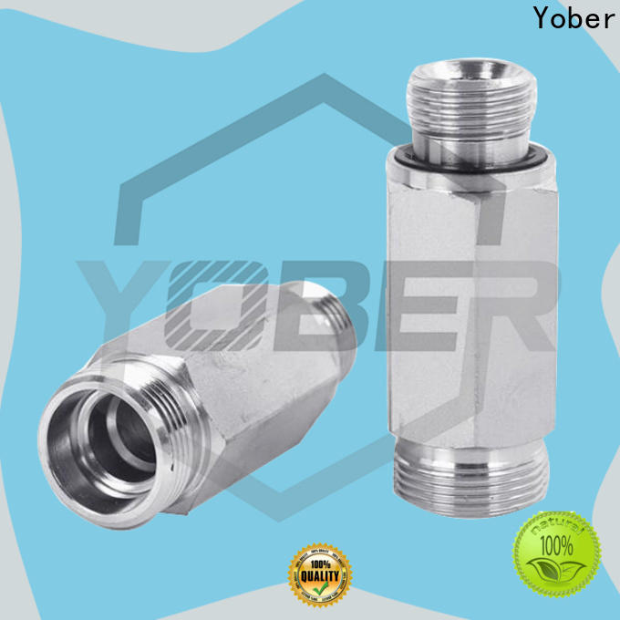 45°bent hydraulic hose fittings series for agricultural machines
