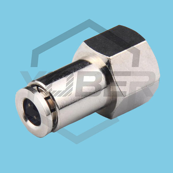 China Factory CopperJoint with fitting Male/Famale Connector Pneumatic Fittings Quick Joint Copper Tubes Couplings