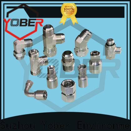 stable hydraulic adapter fittings directly sale for hydraulic system