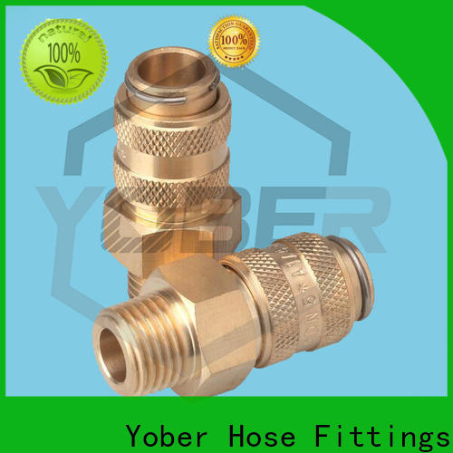 Yober quick connect fittings series for water pipeline system