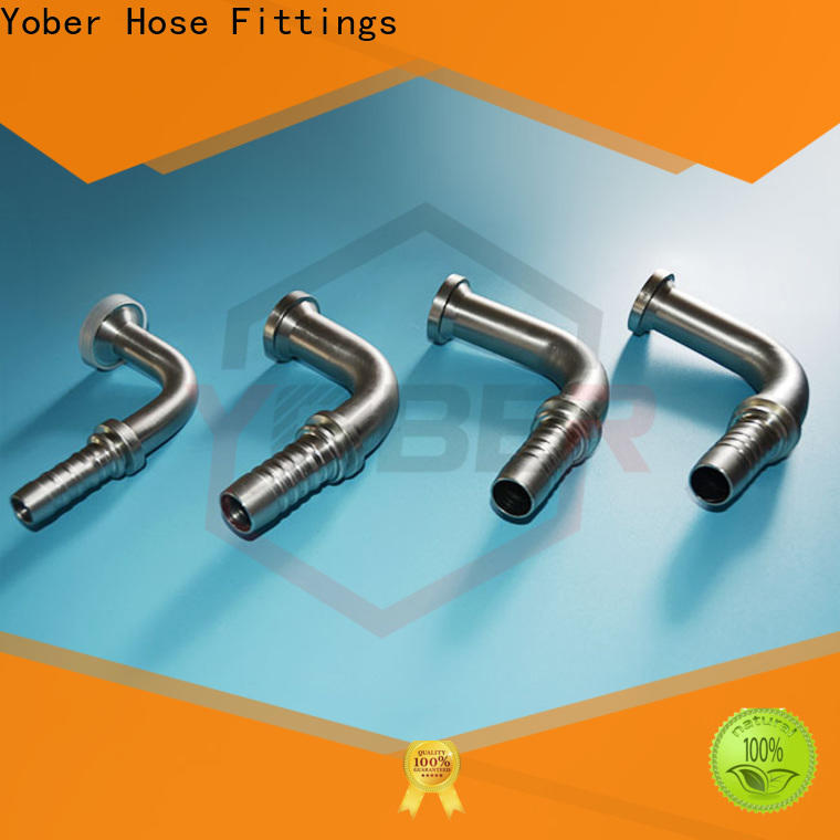 Yober hydraulic hose fittings design for machine tools and industrial plants