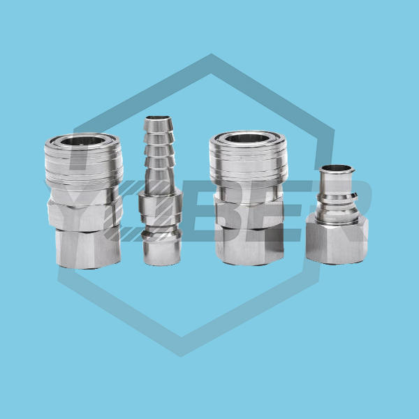China OEM Stainless Steel Pneumatic Quick Coupler Air Hose Quick Fittings Quick Release Air Connectors