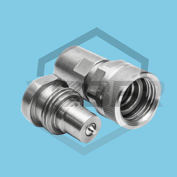 High Pressure Hydraulic Fittings Screw Type Hhydraulic Quick Release Couplings