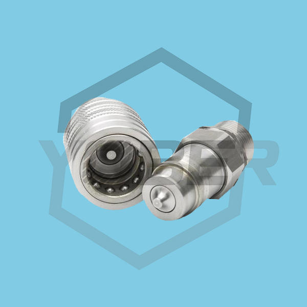 China OEM Hydraulic Fittings Push and Pull Ttype Quick Cconnect Coupler for Aagriculture Machine