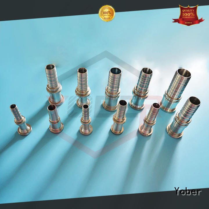 Yober hydraulic fitting manufacturer customized for machine tools and industrial plants