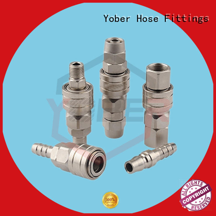 Yober carbon steel quick connect coupling customized for oil refining