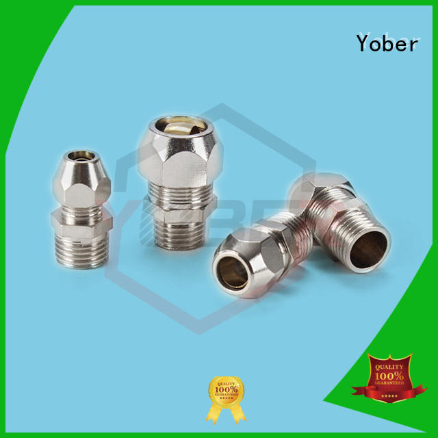 Yober reliable hydraulic fittings design for machine tools and industrial plants