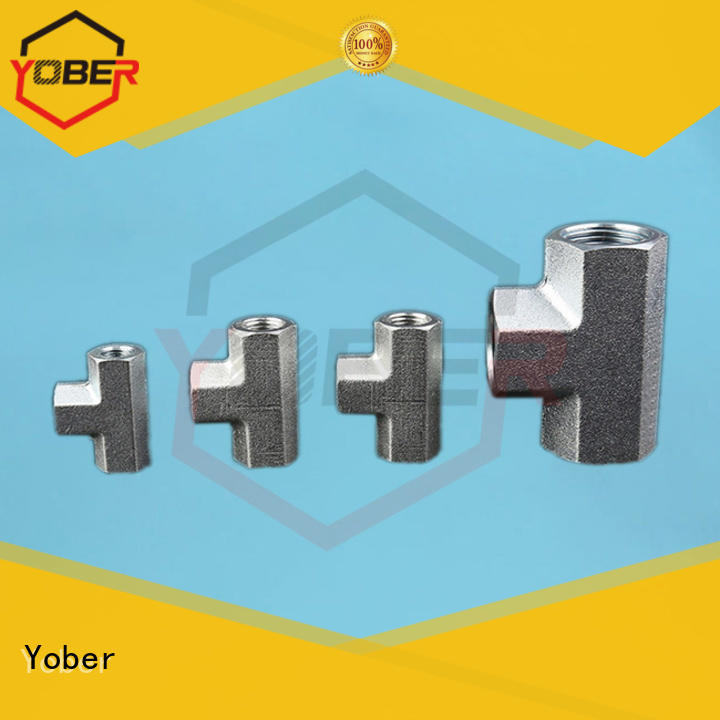 Yober high quality hydraulic flange fittings factory direct supply for oilfield