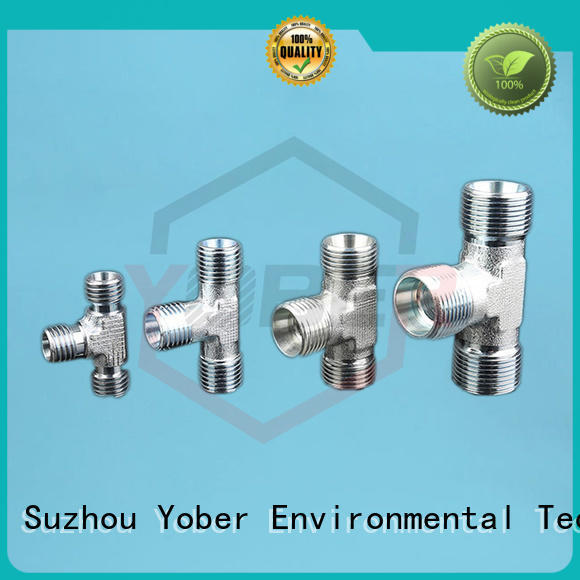 Yober male and female threaded hose fitting series for washdowm