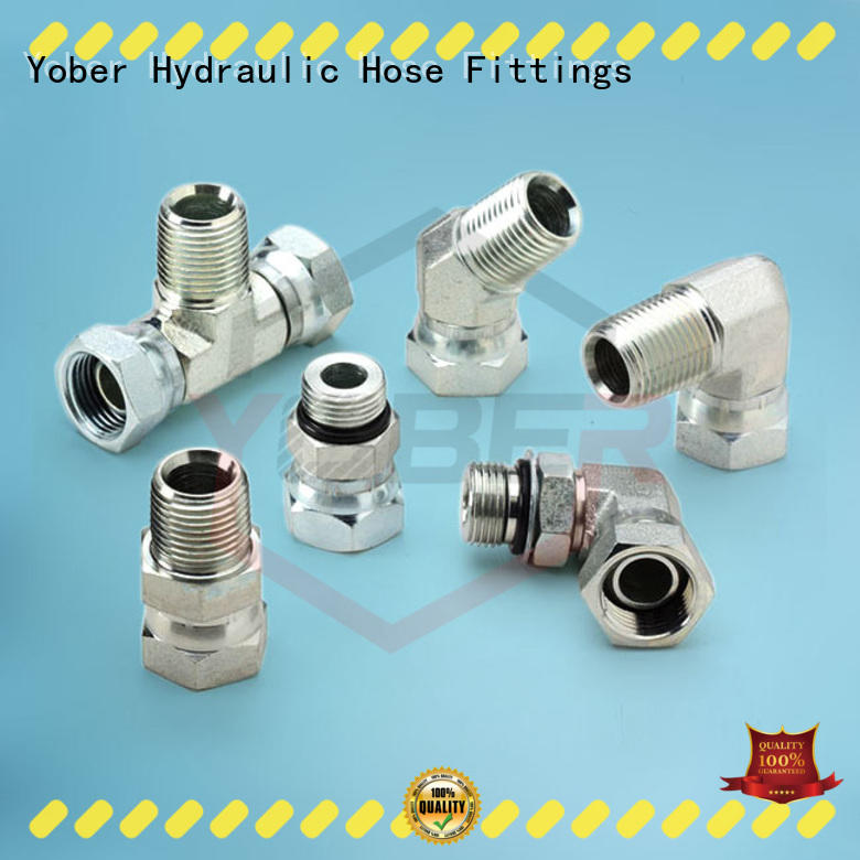 Yober hydraulic adapter wholesale for machine tools and industrial plants