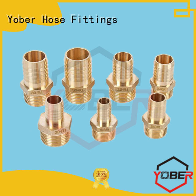 Yober hot sale hydraulic hose crimp fittings design for machine tools and industrial plants