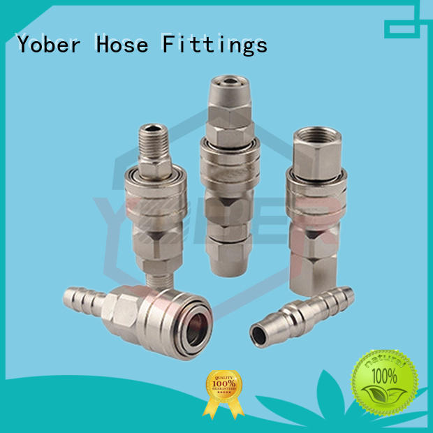 Yober professional quick connect coupling directly sale for instruments and meters