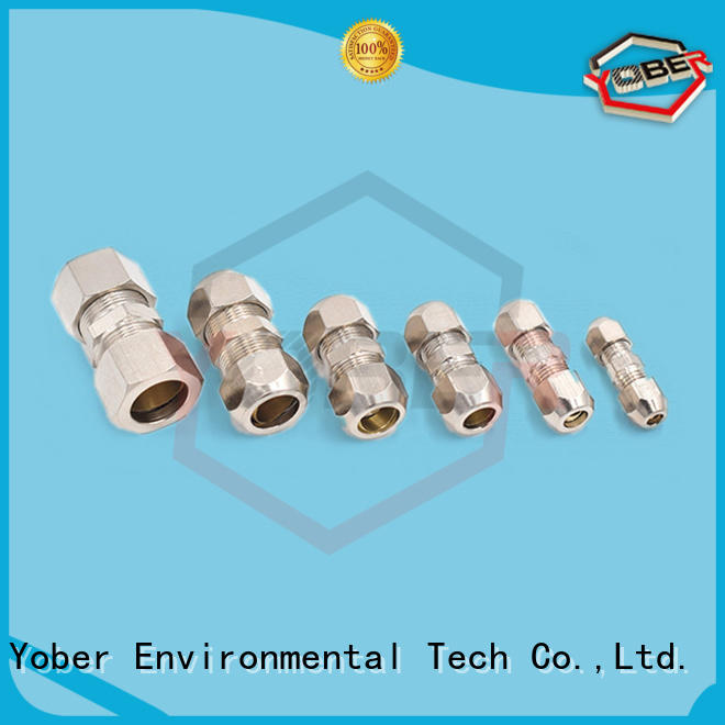 Yober hydraulic fitting types customized for agricultural machines