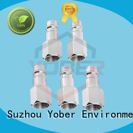 Yober 45°bent hydraulic hose pipe fitting factory direct supply for aircraft refueling