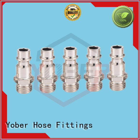 Yober 45°bent hose pipe fittings series for aircraft refueling