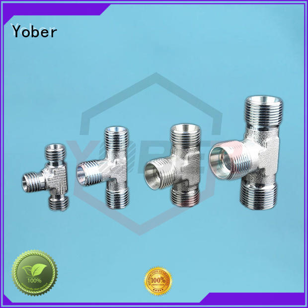 Yober reliable hydraulic hose fittings design for machine tools and industrial plants