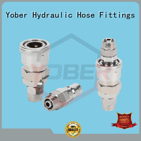 Yober waterproof quick connect coupling factory direct supply for oil refining