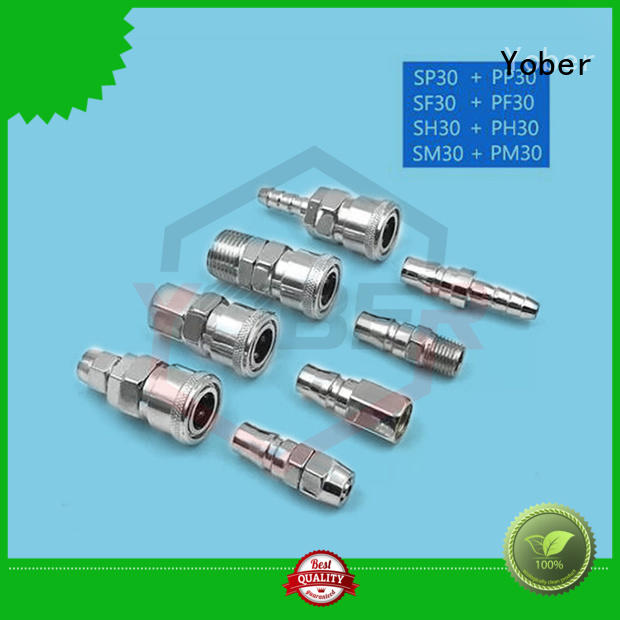 Yober reliable quick connect fittings series for water pipeline system
