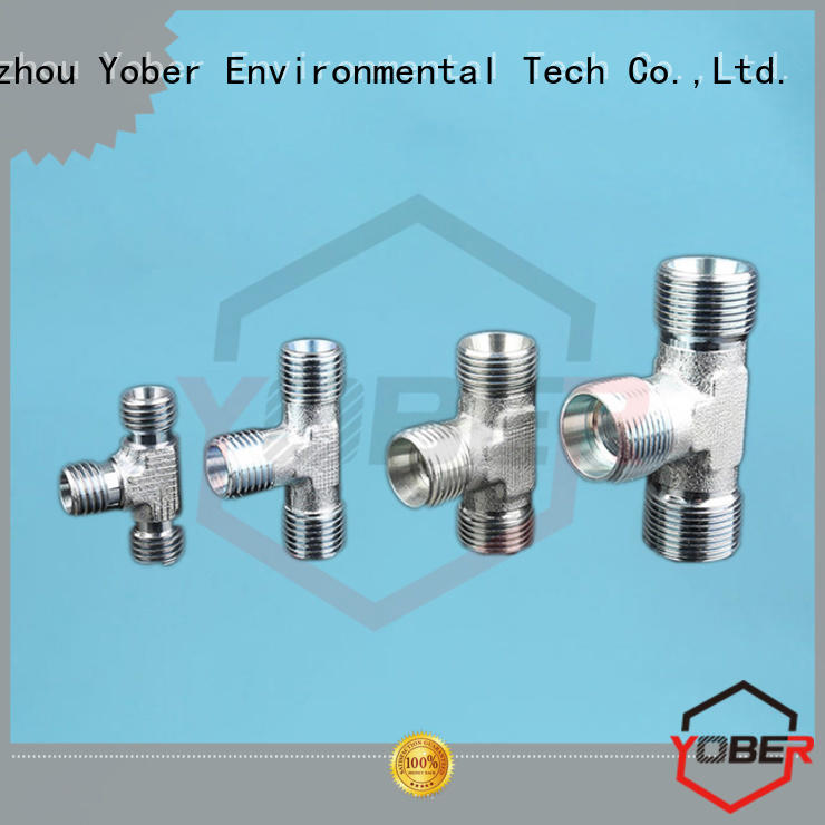 Yober hydraulic fitting sizes series for washdowm