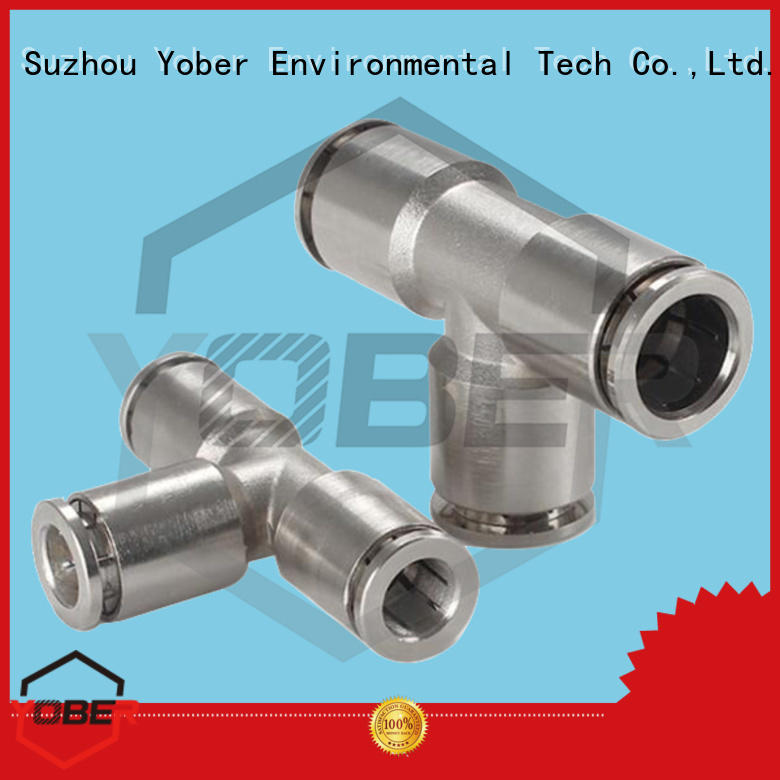 Yober stainless steel quick connector series for instruments and meters