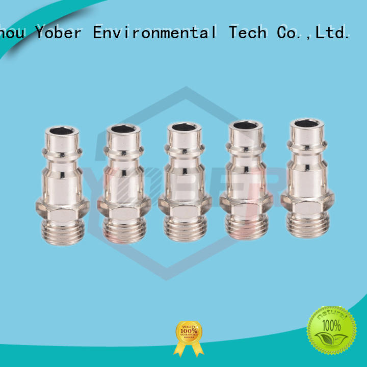 45°bent hose pipe fittings customized for agricultural machines