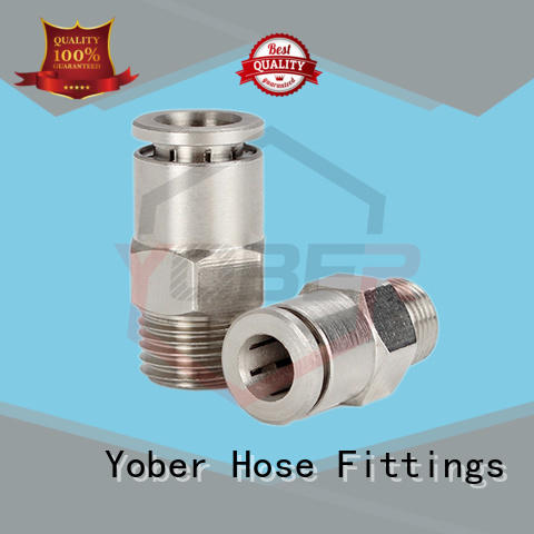 Yober durable quick connect coupling customized for instruments and meters