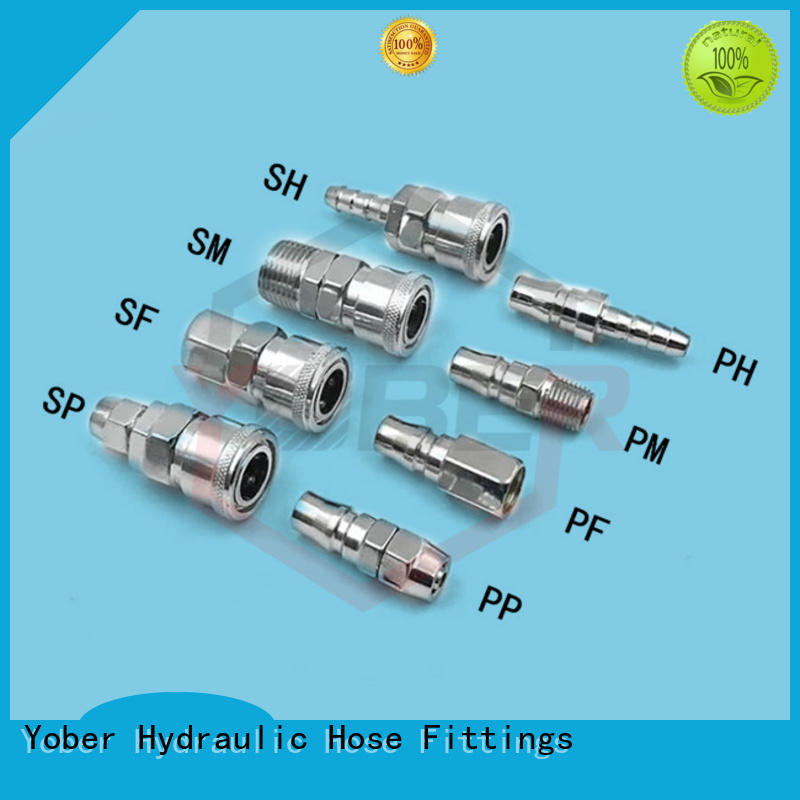 Yober stainless steel quick connect fittings factory direct supply for water pipeline system
