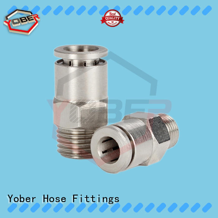 Yober waterproof quick connect fittings series for oil refining