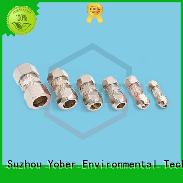 Yober stainless steel hydraulic fitting customized for aircraft refueling
