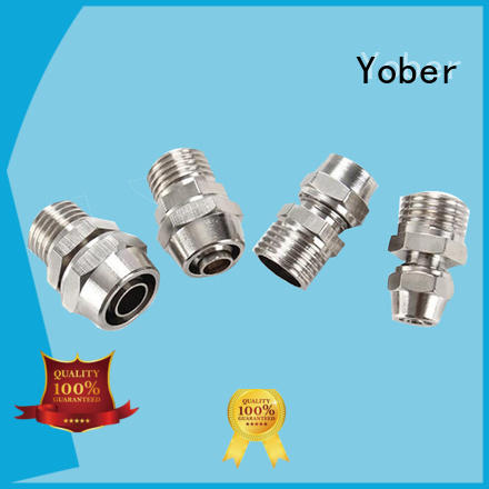 Yober hydraulic flange fittings customized for machine tools and industrial plants