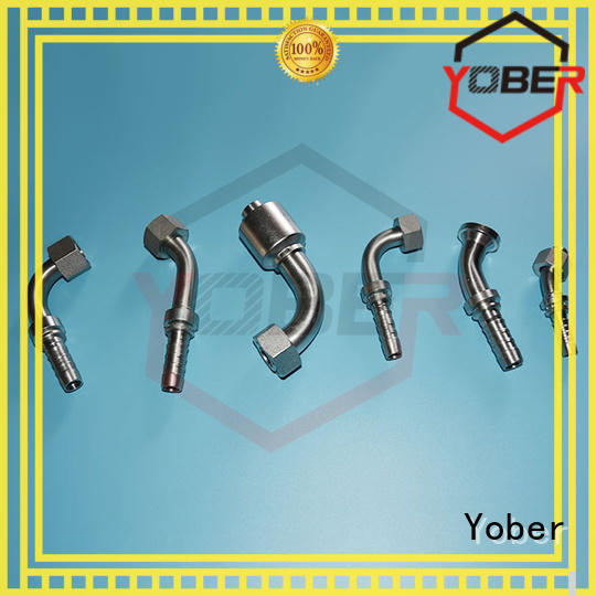Yober hydraulic fittings design for machine tools and industrial plants