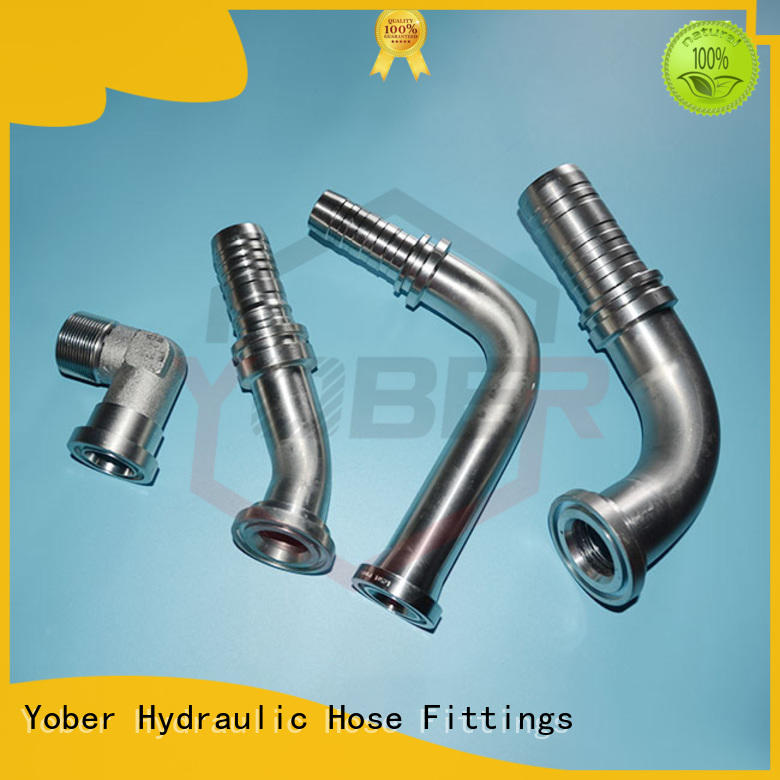 hot sale flange hydraulic fittings factory direct supply for washdowm