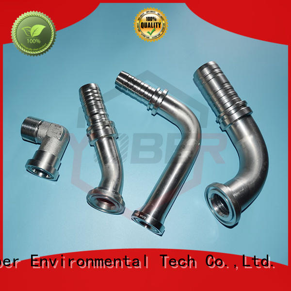 45°bent hydraulic fitting customized for aircraft refueling