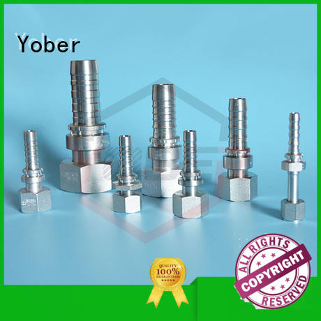 Yober hydraulic fitting types series for machine tools and industrial plants