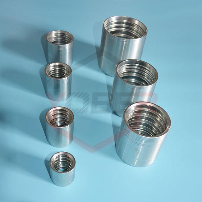China Factory Carbon Steel Hydraulic Hose Ferrules
