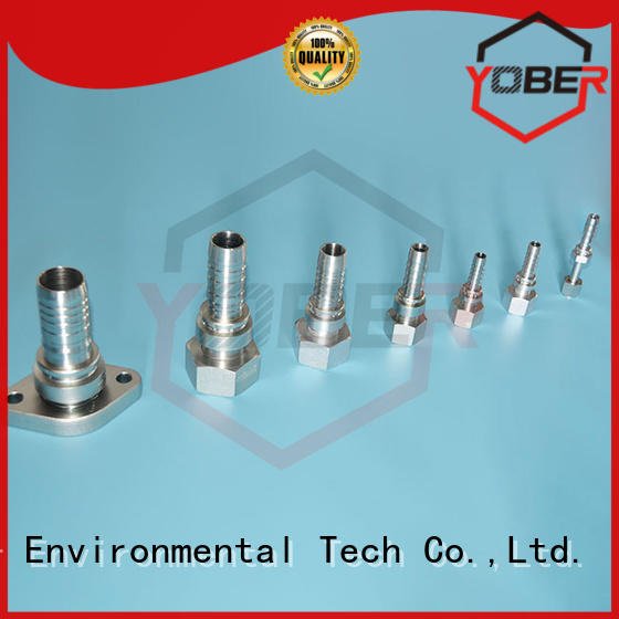 Yober stainless hose fittings factory direct supply for washdowm
