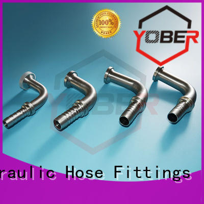 Yober hydraulic flange fittings directly sale for washdowm